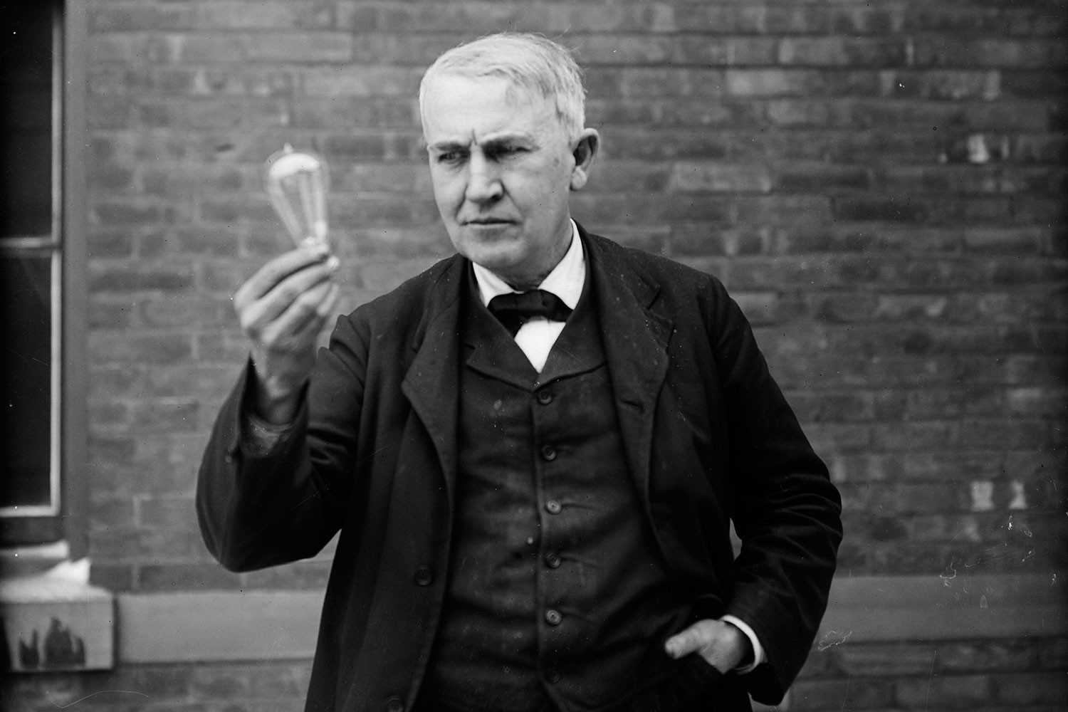 Thomas Edison rare photo