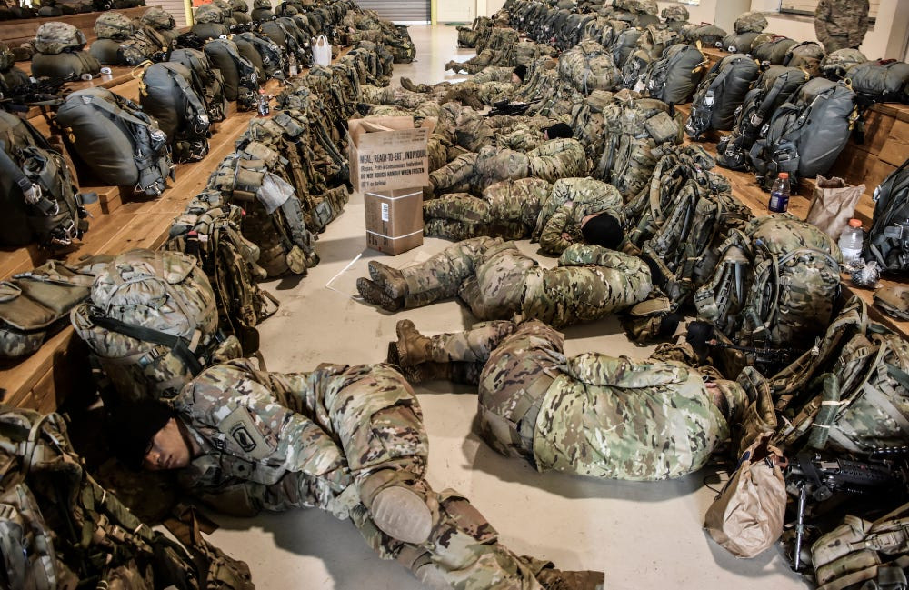 express technique of sleep of US military