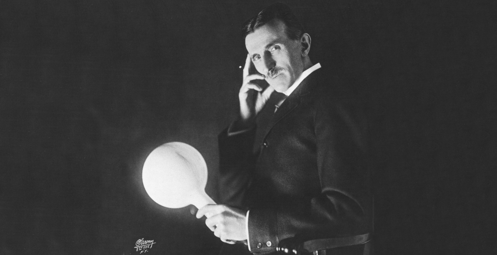 Nikola Tesla rare photo